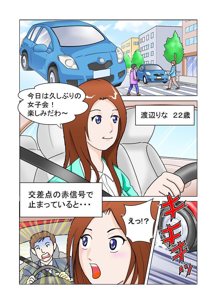マンガでわかる交通事故1